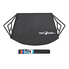 FrostGuard Premium Winter Windshield Snow Cover with Security Panel and Wiper Cover