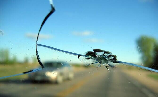 Windshield Crack